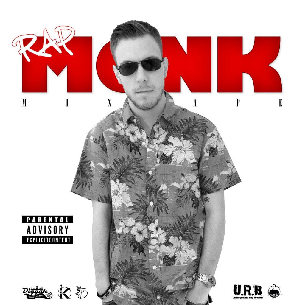 Das Front-Cover zu Krilles Mixtape Rapmonk